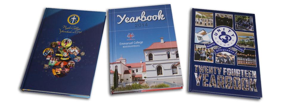 School Yearbook Hard Cover 1