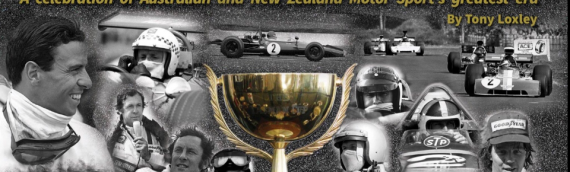 "Book Printing – ""Our latest Book"" Tasman Cup Motor Racing Book 1964 – 1975"